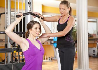 fitness trainers and instructors image
